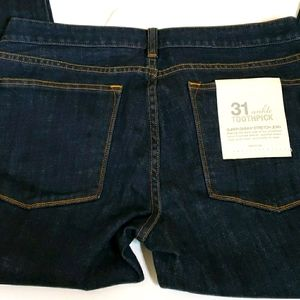 J Crew Factory Toothpick Ankle Skinny Stretch Jean